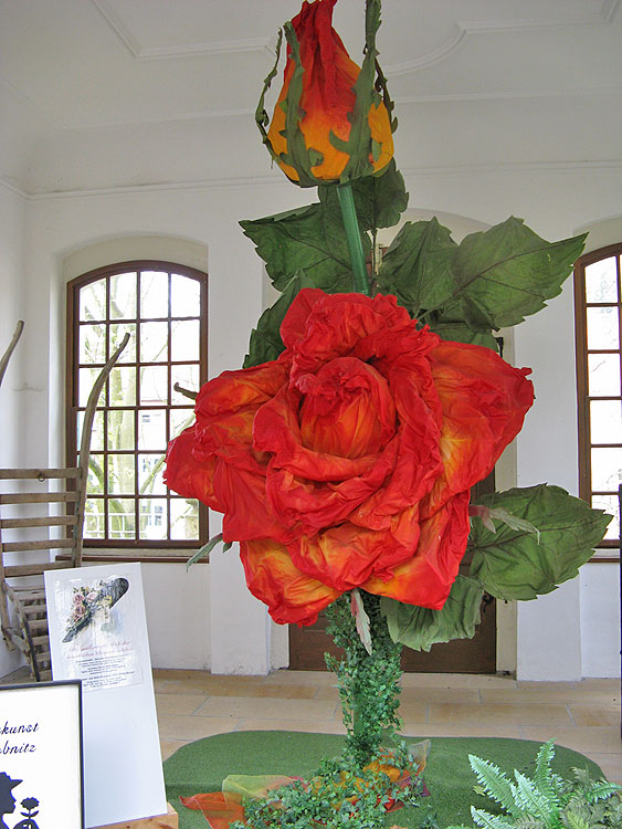 Kunstblumen Sebnitz umgebung landhaus fröde im kurort rathen